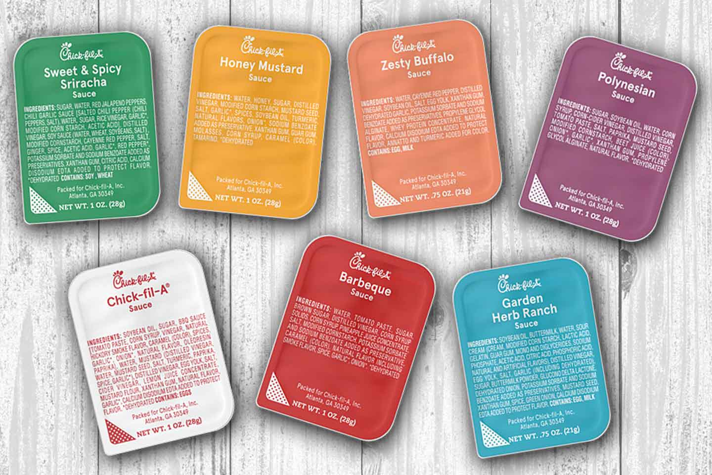 photograph about Chick Fil a Printable Application known as Exact flavor, fresh visual appearance: Chick-fil-A sauces and dressings contemporary
