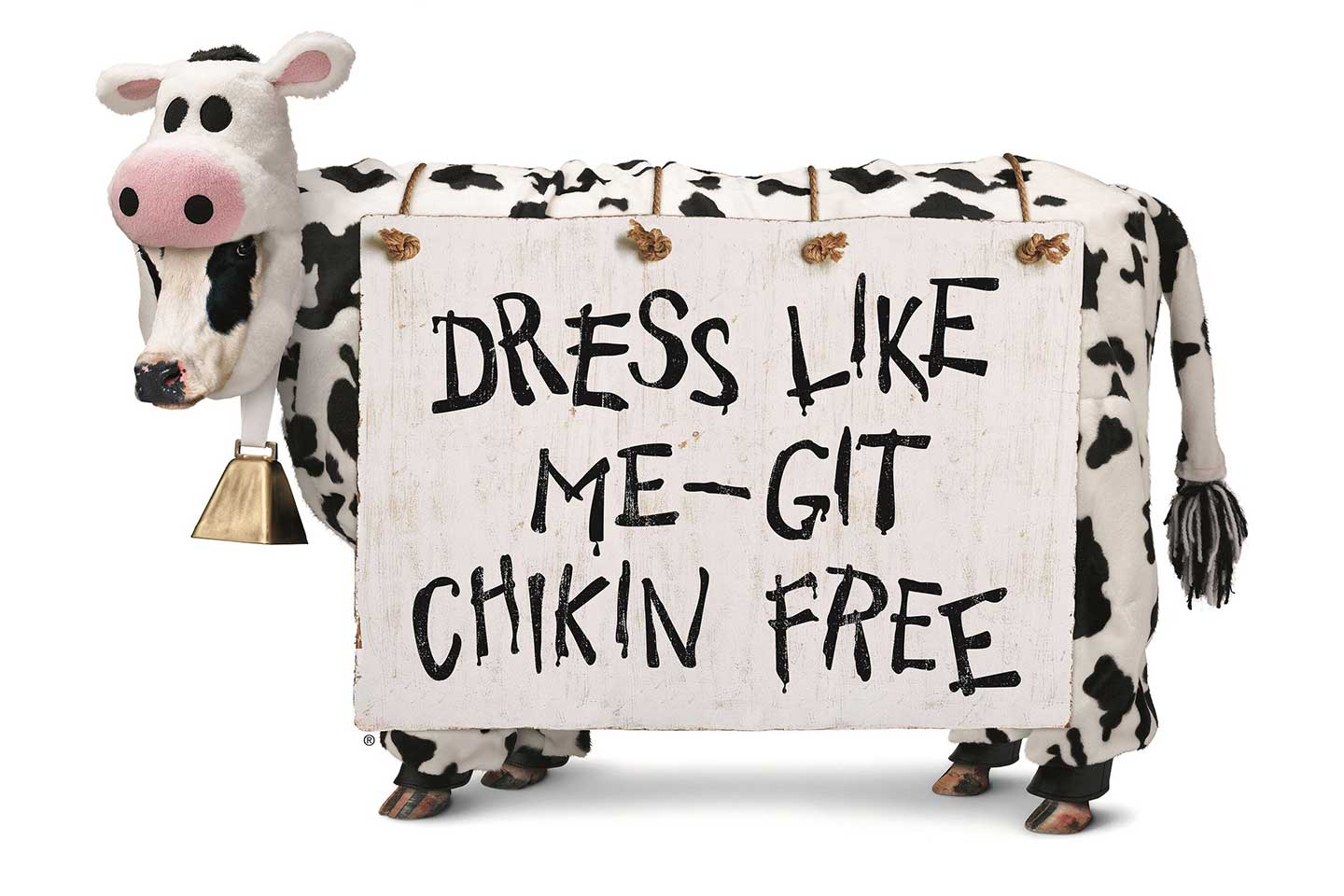 photo regarding Cow Costume Printable identify Cow Appreciation Working day Chick-fil-A